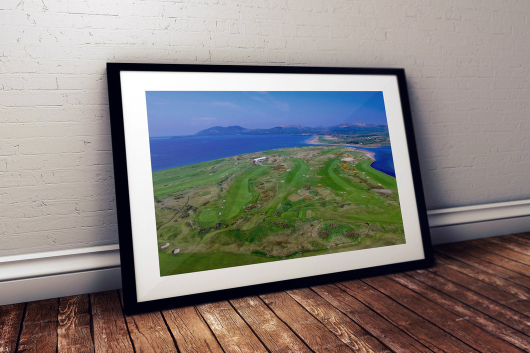 Waterville Golf Links Framed Print – Golf Course Prints