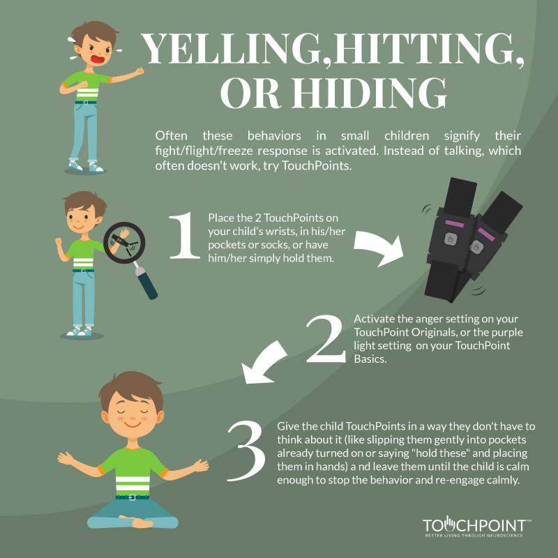 Yelling, Hitting, or Hiding (kids)
