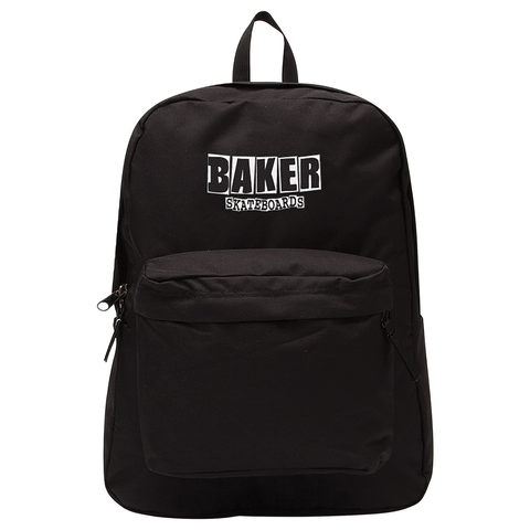 Baker Logo Black Backpack