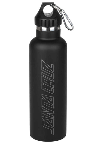 Santa Cruz Drinks Bottle Outline Strip Black