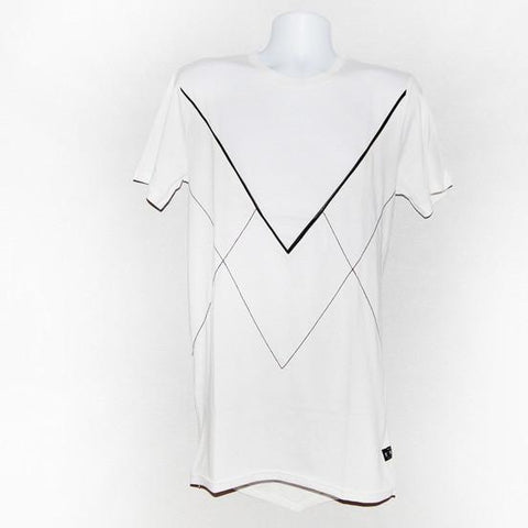 KING apparel V Staple T Shirt White