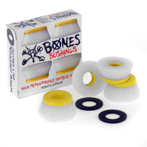 Bones Bushings Medium Yellow/White