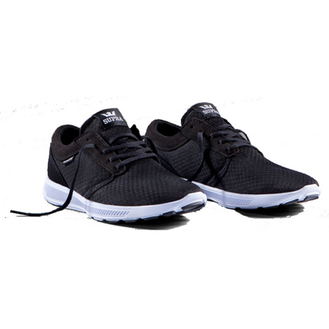 Supra -  Hammer Run Shoe  Black/Black-White