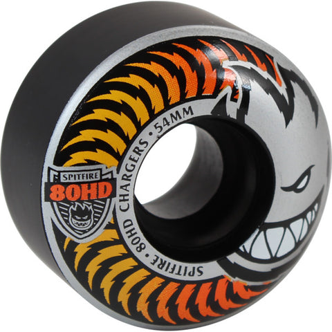Spitfire Soft Wheels 80HD Chargers Classic Fade Black 54 MM