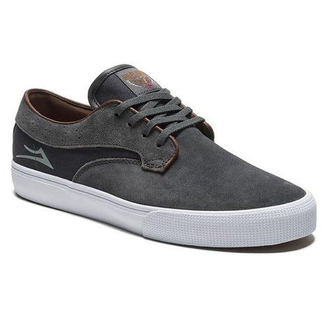 Lakai - Riley Hawk - Gargoyle Suede - Shoes