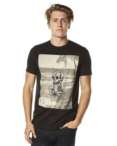 Globe Tropically Disturbed T-Shirt (Black)