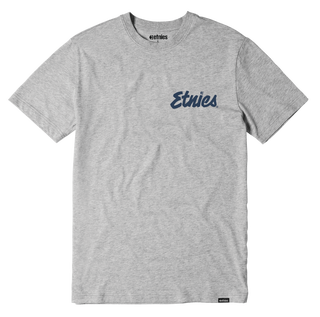 Etnies Speed Script T-Shirt - Grey