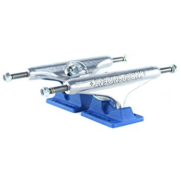 Indy Trucks 159MM Stage 11 Bar Cross Silver/Blue