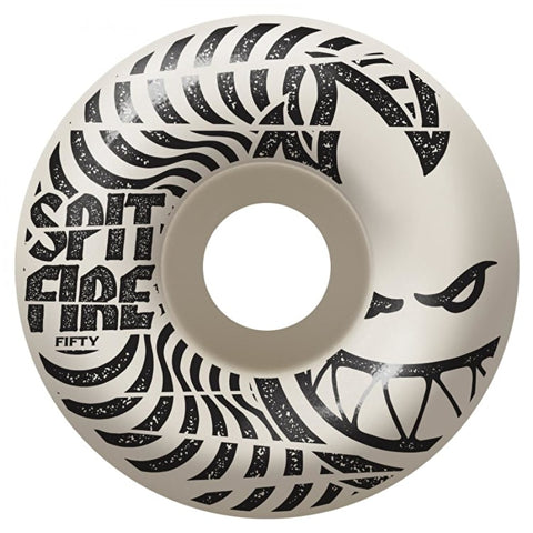 Spitfire Wheels Low Downs 99DU White 50mm