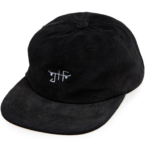 Just Have Fun - BURNOUT VELCRO STRAPBACK - Cap - Black