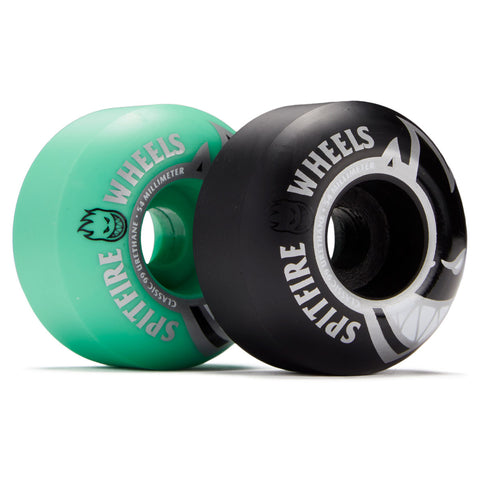 Spitfire Bighead Wheels Mashup Black/Teal 54mm
