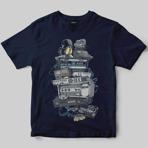 Dephect - T-Shirt - Analogue - Navy