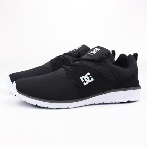 DC Heathrow Shoe Black/White Size 7