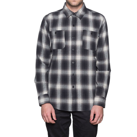 Ombre Plaid L/S Shirt
