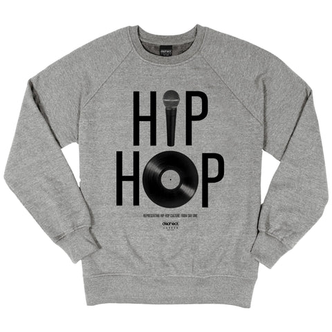 Dephect Crew Neck - Hip Hop - Heather Grey