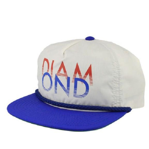 Diamond - Sands Snapback - White