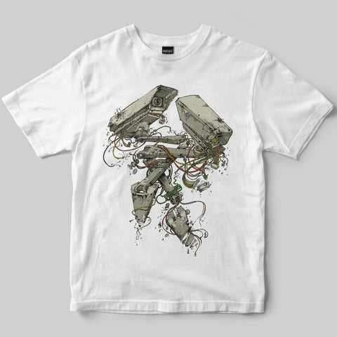 Dephect - T-Shirt - Insecure - White