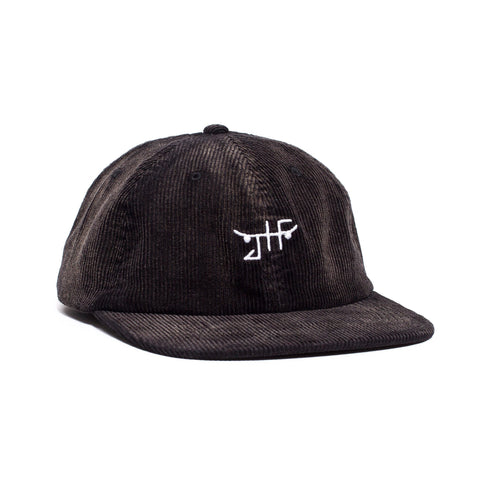 Just Have Fun JHF Burnout Velcro Strapback Black