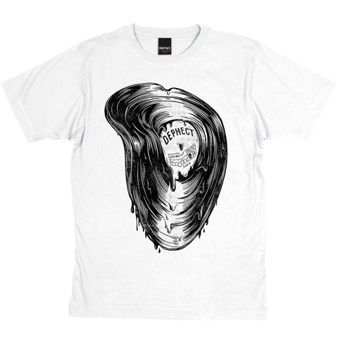 Dephect - Melted - T-Shirt - White
