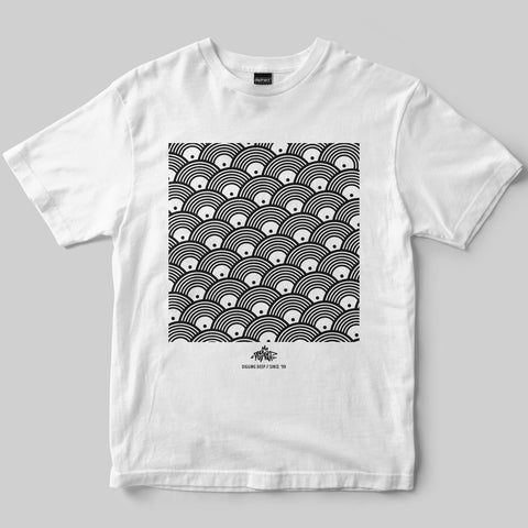 Dephect - T-Shirt - Repeat - White