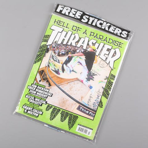 Thrasher Skate Magazine July 2018