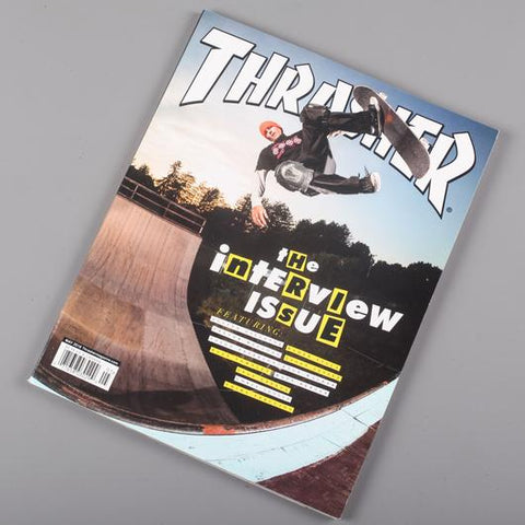 Thrasher Skate Magazine May 2018