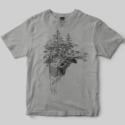 Dephect - T-Shirt - Zen - Heather Grey