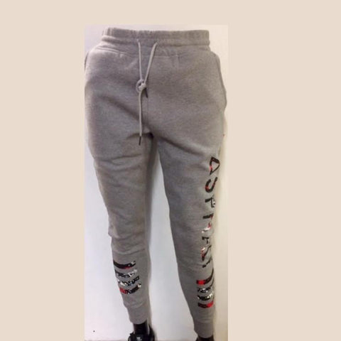 Asphalt Yacht Club Spray Joggers Grey