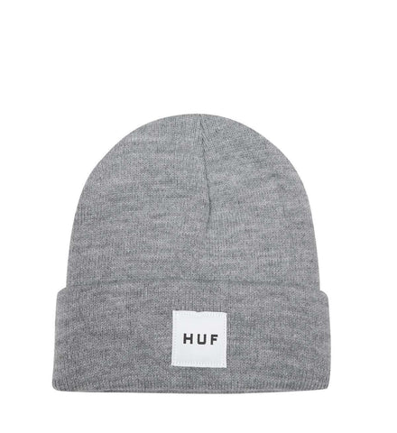 Huf - Box Logo Beanie OS Heather Grey