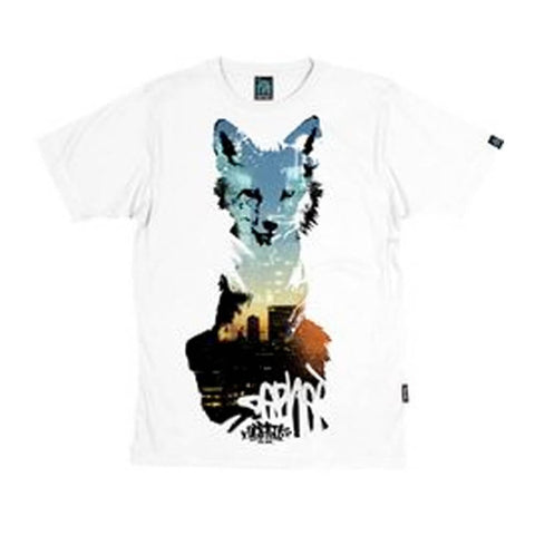 Dephect - T-Shirt - Foxed - White