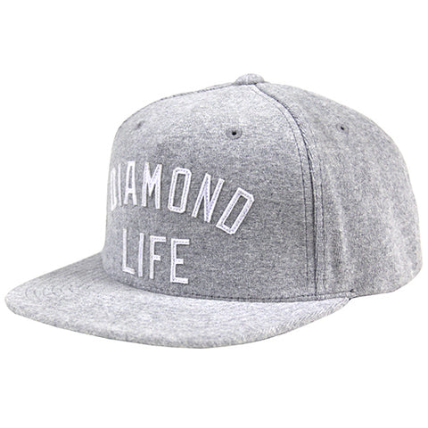 Diamond Arch Snapback Heather