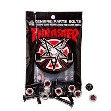 Indy Bolts Thrasher Bolts Phillips Black/Silver 7/8 IN