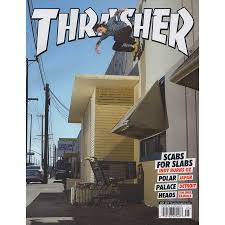 Thrasher Skate Magazine May 2019