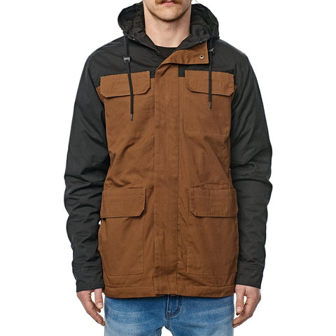 Globe Goodstock Blocked Parka 2 Hazel