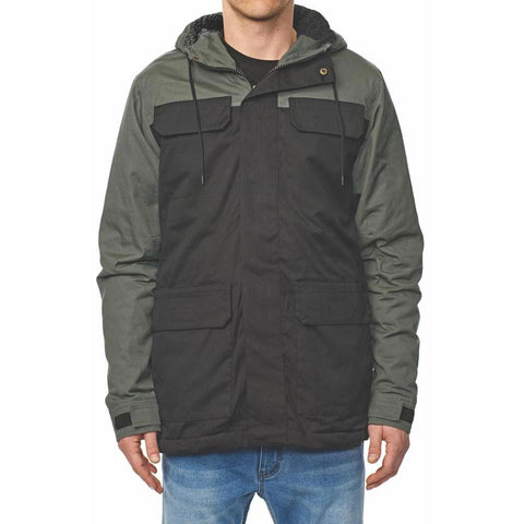Globe Goodstock Blocked Parka Black