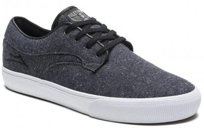 Lakai Riley Hawk Midnight Textile Shoe