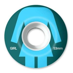 Girl Torso Staple Wheels Blue 55mm