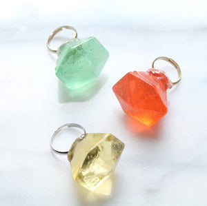 Ring Pop in a Box/ Bridal Party Favors/Personalized  6 PCS