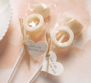 Ring Bling Lollipops 8 PCS