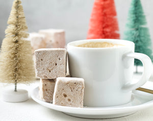 Gingerbread Marshmallows Christmas Holiday Gifts
