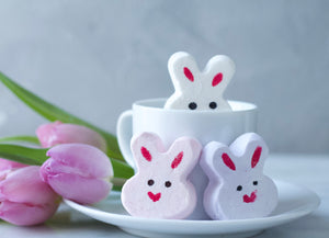 Easter Bunny Marshmallows 12 Pieces
