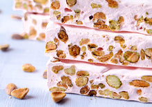 Rose Water Honey Pistachio Nougat 1 LB -1 1/2 LBS