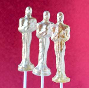 Edible Movie Award Statuettes - 3D 8 PCS
