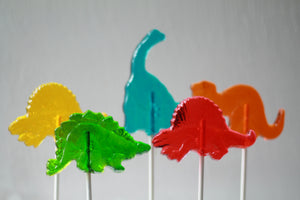 Dinosaur Lollipops 8 PCS