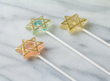 Star Of David Lollipops - Bar Bat Mitzvah Favors