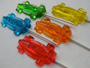 Racing Car Lollipops 8PCS