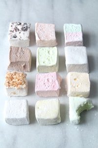 Rose and Honey Marshmallows 16 - 60 PCS