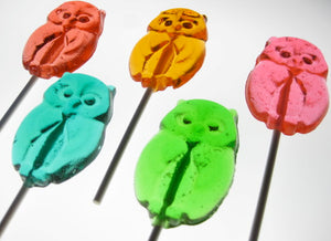 Owl Lollipops 8 PCS