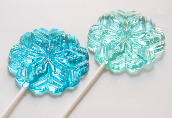 Snowflake Lollipops 8 PCS