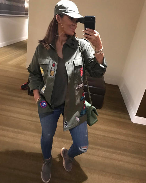 Evelyn Lozada wears Cult de Jour